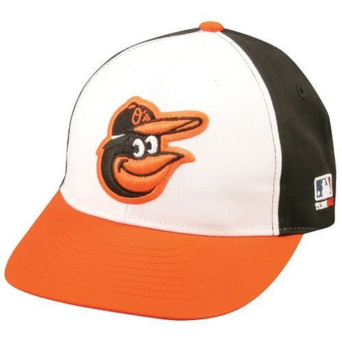 Baltimore Orioles Licensed Replica Caps/Hat White with Mascot
