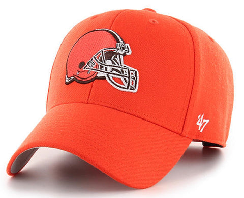 Cleveland Browns NFL '47 MVP Basic Orange Hat Cap Adult Men's Adjustable