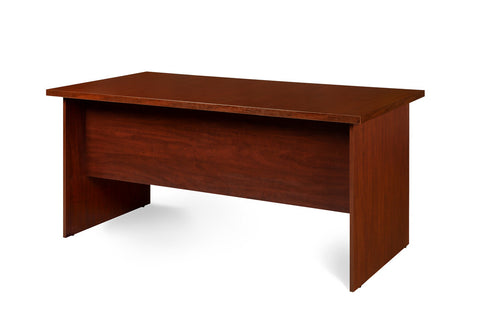 1600mm OFFICE DESK SHELL - ROYAL MAHOGANY COLOUR
