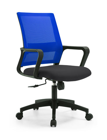 ANTONIO MEDIUM BACK OPERATOR CHAIR - BLUE