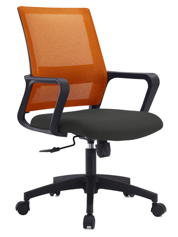 ANTONIO MEDIUM BACK OPERATOR CHAIR- ORANGE