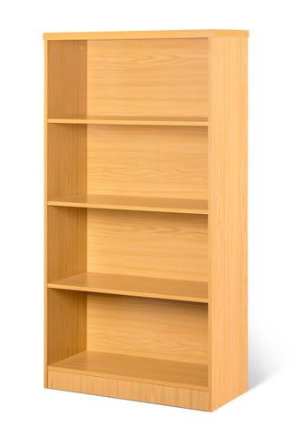 SUPER100 4 TIER BOOK CASE OAK
