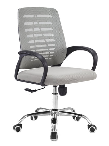 ITAL  MEDIUM BACK OPERATOR CHAIR - GREY