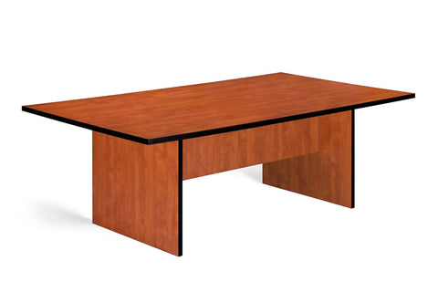 SUPER100  8 SEATER BOARDROOM TABLE ROYAL CHERRY