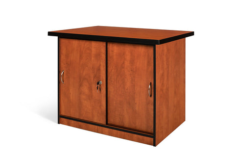 SUPER100 SLIDING DOOR CREDENZA CHERRY