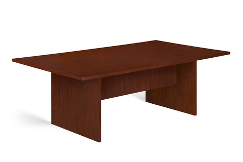 SUPER100  8 SEATER BOARDROOM TABLE ROYAL MAHOGANY