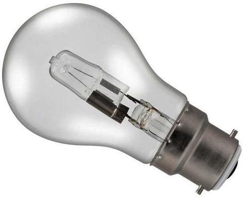 42W (60W Alternative) Energy Saving Halogen Standard Shape (GLS) BC - Flying Dutchman Stores