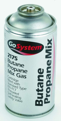 GoSystem Butane Propane Mix Gas Cartridge 170g - Flying Dutchman Stores