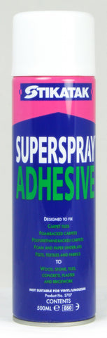 Stikatak Superspray Adhesive 500ml - Flying Dutchman Stores