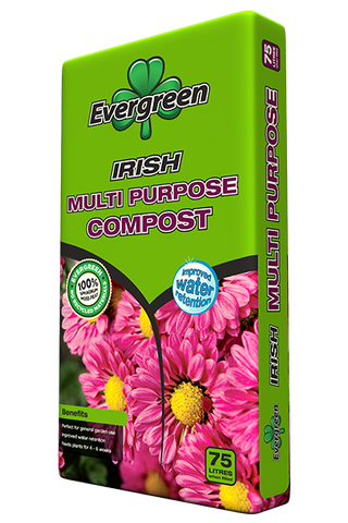 Evergreen Irish Multi-Purpose Composts 40LTR