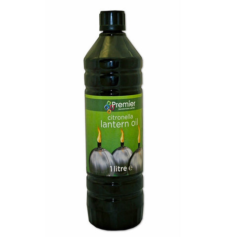 Premier Citronella Lamp Torch Oil 1 LITRE - Flying Dutchman Stores