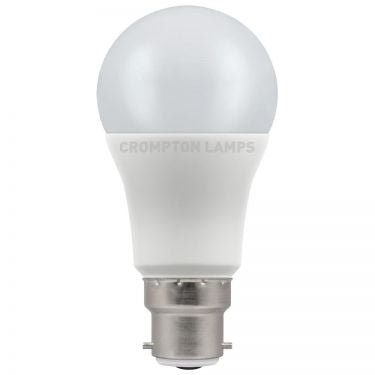 Crompton LED GLS Thermal Plastic 8W 2700K Cool White BC-B22d - Flying Dutchman Stores