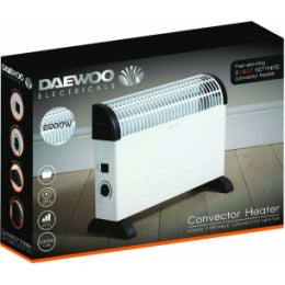DAEWOO 2000W CONVECTOR HEATER - Flying Dutchman Stores