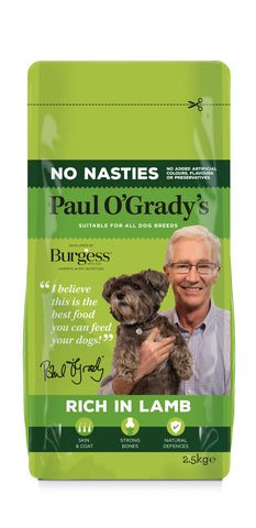 PAUL O'GRADY NO NASTIES RICH IN LAMB 2.5KG - Flying Dutchman Stores