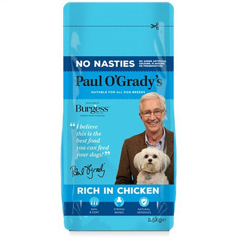 Paul O'Grady's No Nasties Rich in Chicken Adult Dog Food 2.5kg - Flying Dutchman Stores