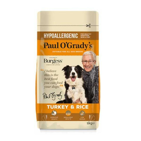 Paul O'Grady's Turkey & Rice Dog Food 2kg - Flying Dutchman Stores