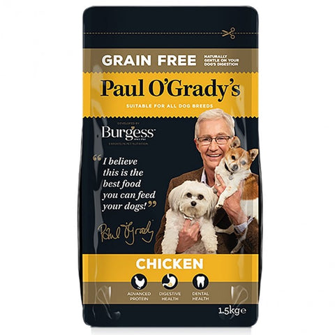 Paul O'Grady's Grain Free Chicken Dog Food 1.5kg - Flying Dutchman Stores