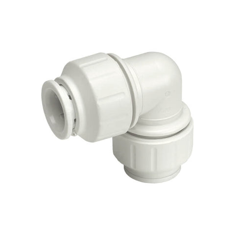 JG Speedfit Equal Elbow Connector 22mm EACH- White