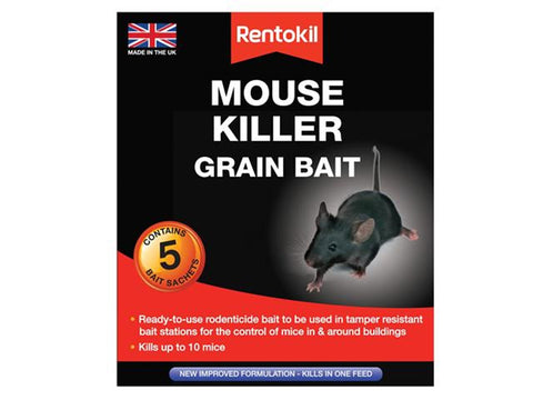 RENTOKIL MOUSE KILLER GRAIN BAIT - Flying Dutchman Stores