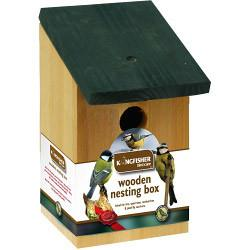 Kingfisher Traditional Wooden Nesting Box - Flying Dutchman Stores