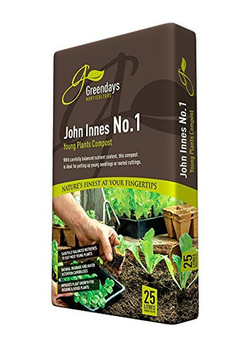 JOHN INNES NO 1 YOUNG PLANT COMPOST 25LTRS