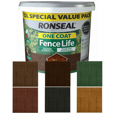 Ronseal  One Coat Fencelife 5ltrs