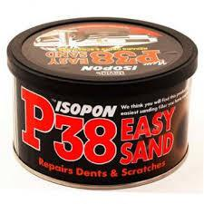 UPO UPOP38S P38 Easy Sanding Body Filler 250ml Tin - Flying Dutchman Stores