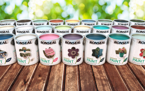 RONSEAL GARDEN PAINT from £4.99