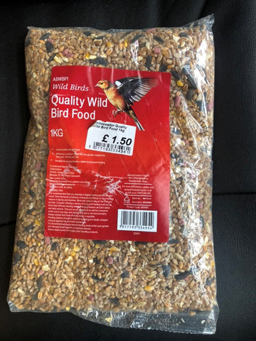 Ambassador Quality Wild Bird Food 1Kg / - Flying Dutchman Stores