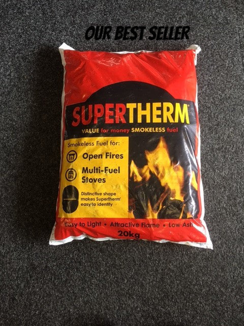 1 Bag Supertherm smokeless coal - Flying Dutchman Stores