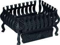 "Fire Basket ( VALENCIA 21"" BLACK) - Flying Dutchman Stores"