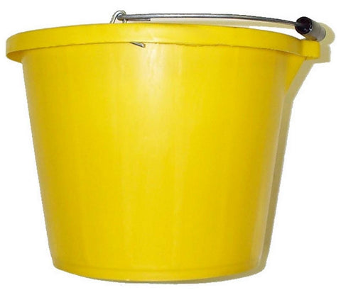 Yellow Builders Bucket - Flying Dutchman Stores