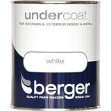 Berger Undercoat Pure Brilliant White Paint- 1.25L - Flying Dutchman Stores