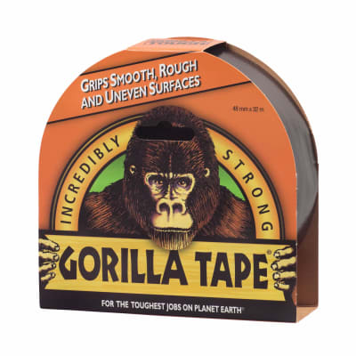 Gorilla Tape Black 32m Roll - Flying Dutchman Stores