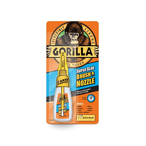 GORILLA SUPER GLUE BRUSH & NOZZLE - Flying Dutchman Stores