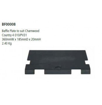 Baffle plate to suit Charnwood  Country 4.0 10 - Flying Dutchman Stores