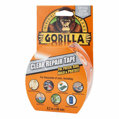 GORILLA TAPE – CRYSTAL CLEAR - Flying Dutchman Stores