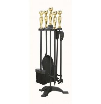 Manor Black/Brass Comp Set 22 High - Flying Dutchman Stores