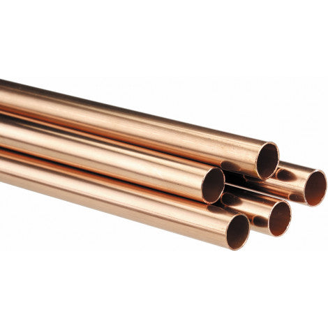 Copper Pipe 3m x 15mm £3.00 per meter - Flying Dutchman Stores