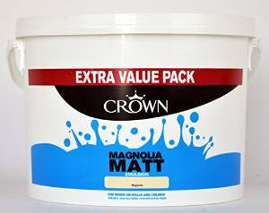 Crown Standard Matt Emulsion 7.5L Magnolia - Flying Dutchman Stores
