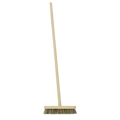 "9"" Deck Scrub Brush with 48"" Handle - Flying Dutchman Stores"
