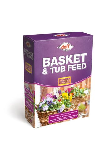 Doff Basket & Tub Feed 1.5kg - Flying Dutchman Stores