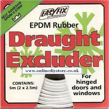 EASYFIX DRAUGHT EXCLUDER 5mm - Flying Dutchman Stores