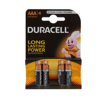 4Pk Of AAA Batteries Durcell - Flying Dutchman Stores