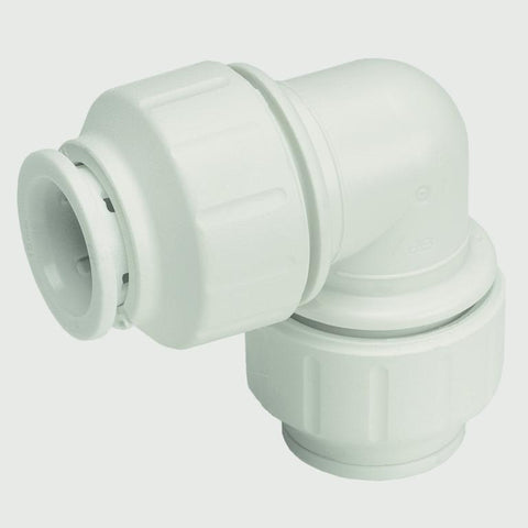 JG Speedfit Equal Elbow Connector 15mm - White each