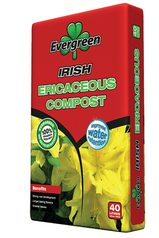 Evergreen Ericaceous Irish Compost 40ltrs - Flying Dutchman Stores