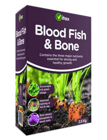 Vitax Blood Fish & Bone 2.5kg - Flying Dutchman Stores