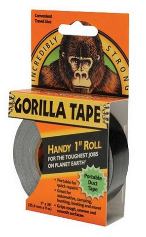 Gorilla  Tape Black Handy Roll 9m - Flying Dutchman Stores