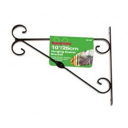 "SupaGarden Hanging Basket Bracket 35cm/14"" Black - Flying Dutchman Stores"