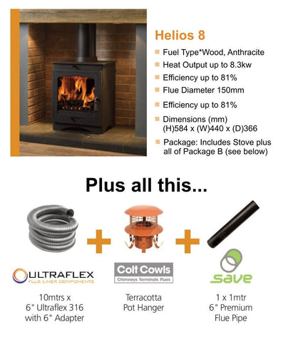 Helios 8 Stove Package - Flying Dutchman Stores